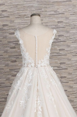 Fashion wedding dress A line | Wedding fashions with lace_7
