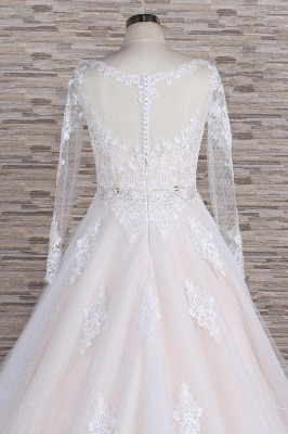 Luxury wedding dresses with lace | Wedding dresses with sleeves_7