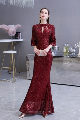 Red evening dresses | Long prom dresses with glitter_5
