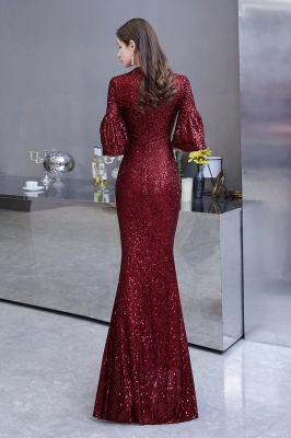 Red evening dresses | Long prom dresses with glitter_8