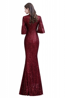 Red evening dresses | Long prom dresses with glitter_14