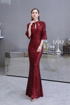 Red evening dresses | Long prom dresses with glitter_7