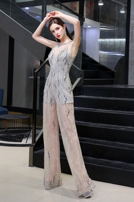 Long glitter prom dresses | Jumpsuit evening dresses cheap_5