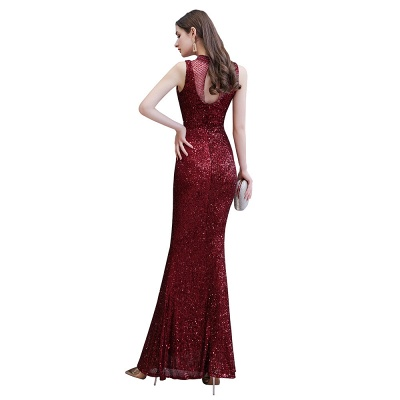 Prom dresses with glitter | Evening dress long red_12