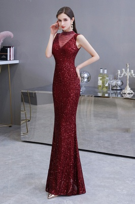 Prom dresses with glitter | Evening dress long red_4