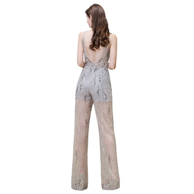 Long glitter prom dresses | Jumpsuit evening dresses cheap_12