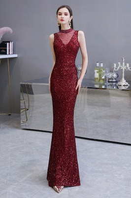 Prom dresses with glitter | Evening dress long red_3