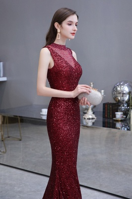 Prom dresses with glitter | Evening dress long red_9