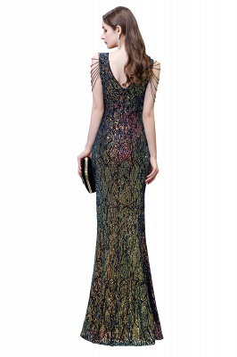 Long glitter prom dresses | Evening dresses black_5