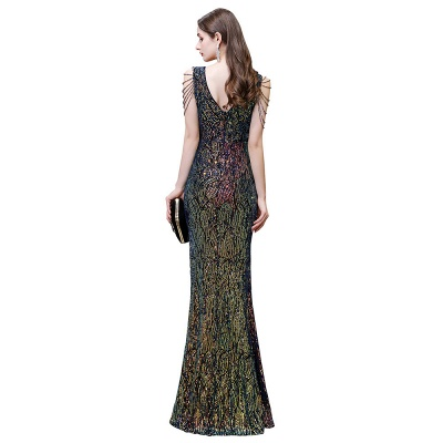 Long glitter prom dresses | Evening dresses black_4