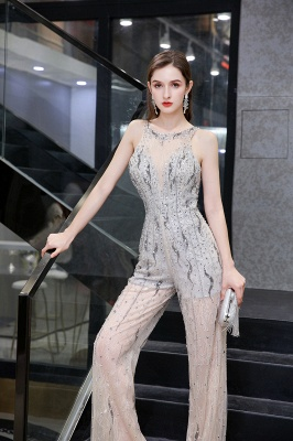 Long glitter prom dresses | Jumpsuit evening dresses cheap_9