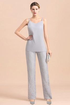 3 Teilige Brautmutterkleider Jumpsuit | Kleider Für Brautmutter Mit Jacket_8