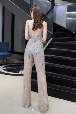 Long glitter prom dresses | Jumpsuit evening dresses cheap_4