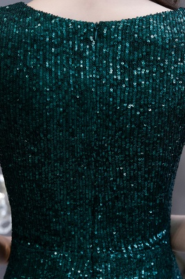 Elegant prom dresses long glitter | Evening dresses green_15