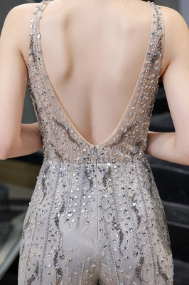 Long glitter prom dresses | Jumpsuit evening dresses cheap_11