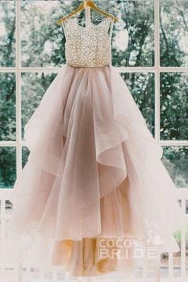Elegante Brautkleider A linie | Hochzeitskleider V Ausschnitt_4