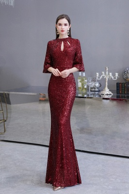 Red evening dresses | Long prom dresses with glitter_2