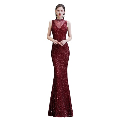 Prom dresses with glitter | Evening dress long red_8