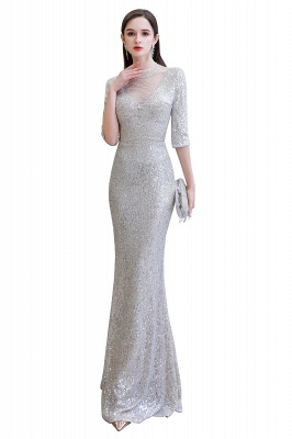 Long glitter prom dresses | Evening dresses with sleeves_15