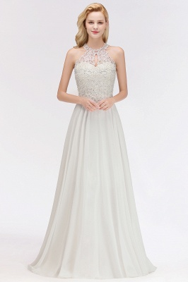 Evening dress long white | Prom Dresses Cheap Online_1