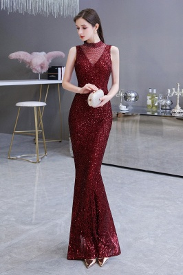 Prom dresses with glitter | Evening dress long red_6
