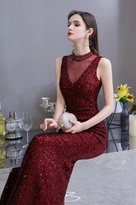 Prom dresses with glitter | Evening dress long red_7