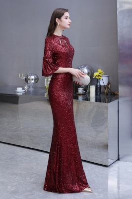 Red evening dresses | Long prom dresses with glitter_9