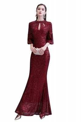 Red evening dresses | Long prom dresses with glitter_1