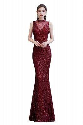 Prom dresses with glitter | Evening dress long red_1