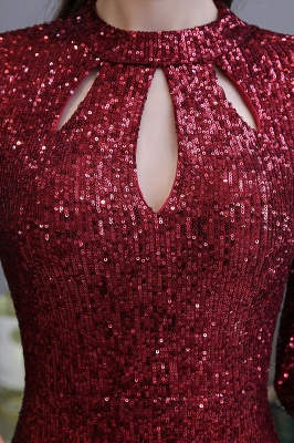 Red evening dresses | Long prom dresses with glitter_10