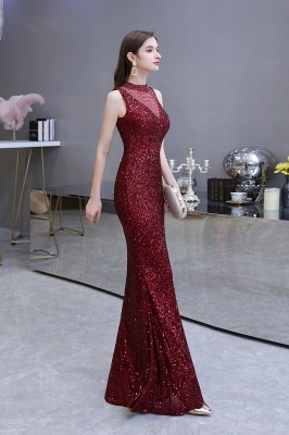 Prom dresses with glitter | Evening dress long red_13