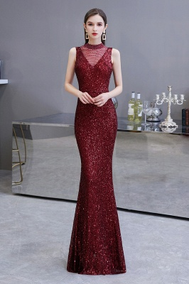 Prom dresses with glitter | Evening dress long red_2