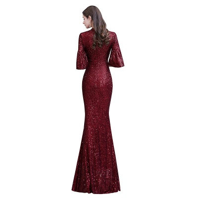 Red evening dresses | Long prom dresses with glitter_12