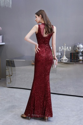 Prom dresses with glitter | Evening dress long red_5