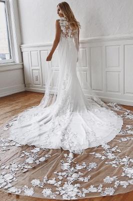 Elegante Brautkleider Mit Spitze | Hochzeitskleid Meerjungfrau Günstig Online_2