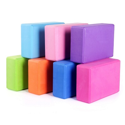 Foam yoga block colored | buy yoga block cheap