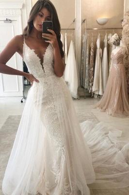 Elegant mermaid wedding dresses | Wedding dresses with lace online_1