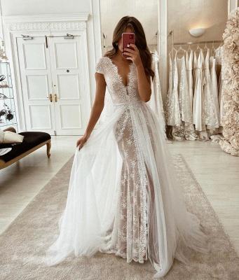 Wunderschöne Brautkleider mit Ärmel | Hochzeitskleider Günstig Online_2