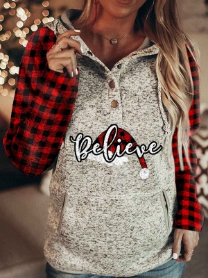 Christmas sweater women | Christmas hoodie with print_1