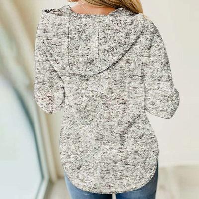 Hoodie Bedrucken Grau | Pullover Sweatshirt_7