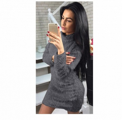 Wool sweater winter women | Sweetshirt Hoodies Long_4