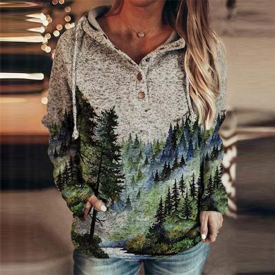 3D Print Pullover Hoodie   Sweetshirt women_2