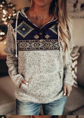 Sweetshirt women | Printed hoodie_3