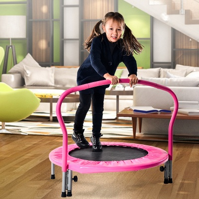 Trampoline Foldable trampoline Indoor trampoline for fitness training Mini trampoline Children's trampoline