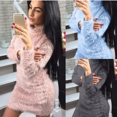 Wool sweater winter women | Sweetshirt Hoodies Long_5