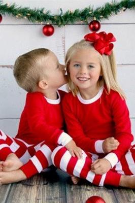 Weihnachten Schlafanzug Damen | Warmer Winter Pyjama_3