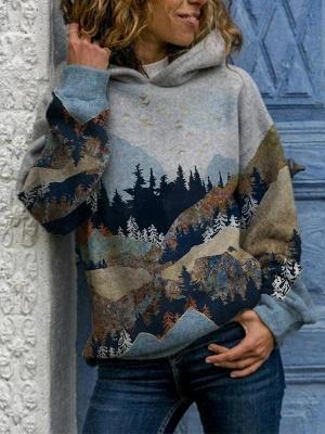 Hoodie Bedrucken 3D Print | Pullover Damen