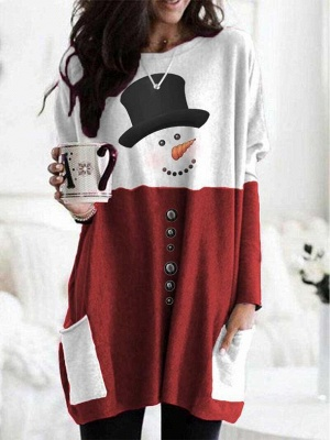 Red Christmas sweater women | Christmas sweater cheap_1