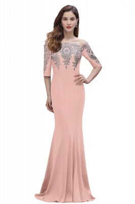 Designer Evening Dresses With Sleeves | King Blue Prom Dresses Long_2