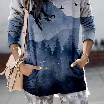 Christmas sweater | Blue Sweaters Cheap Online_4